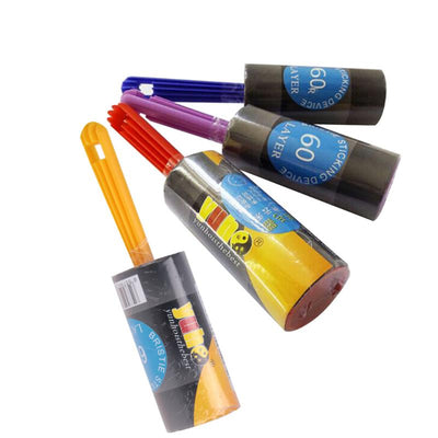 Sticky roller dog hair remover collection
