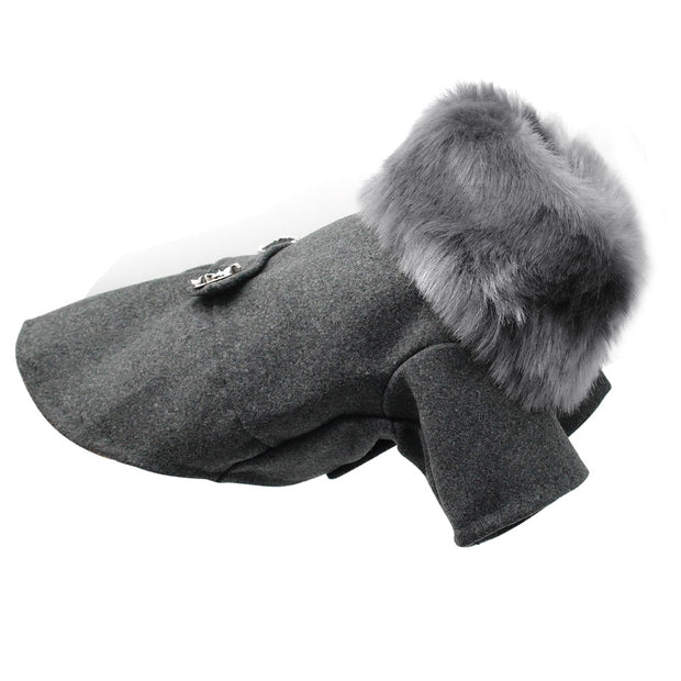 Wool Blend Dog Jacket