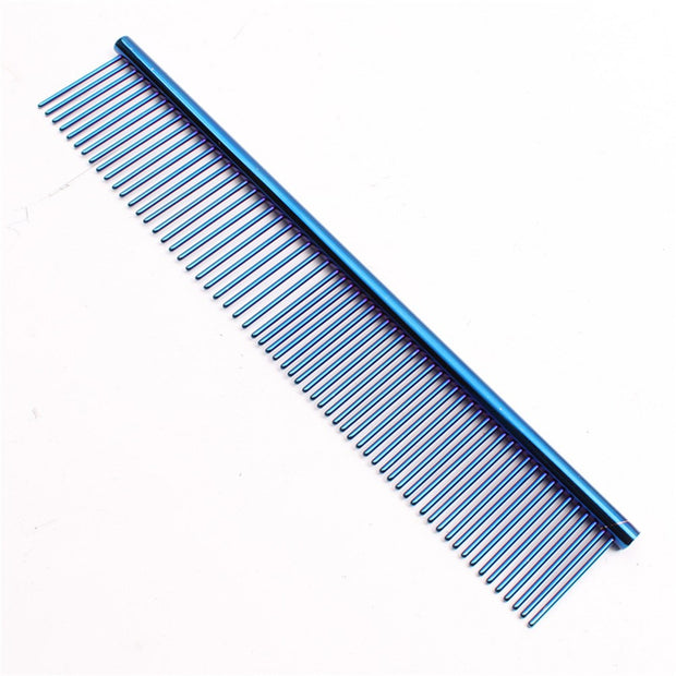 Blue Dog grooming fine tooth comb