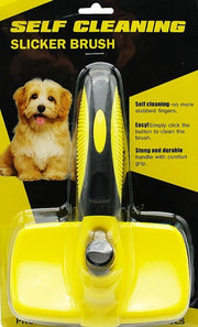 Self Cleaning Dog Brush