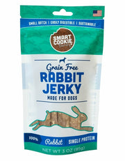 Rabbit Jerky Dog Treats grain free