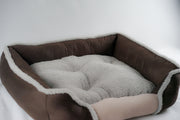 Brown Soft Touch All Seasons 26'' Dog Bed