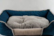Dark blue Soft Touch All Seasons 26'' Dog Bed