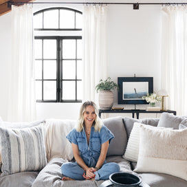Becca Tobin's Bright & Airy Living Room article image