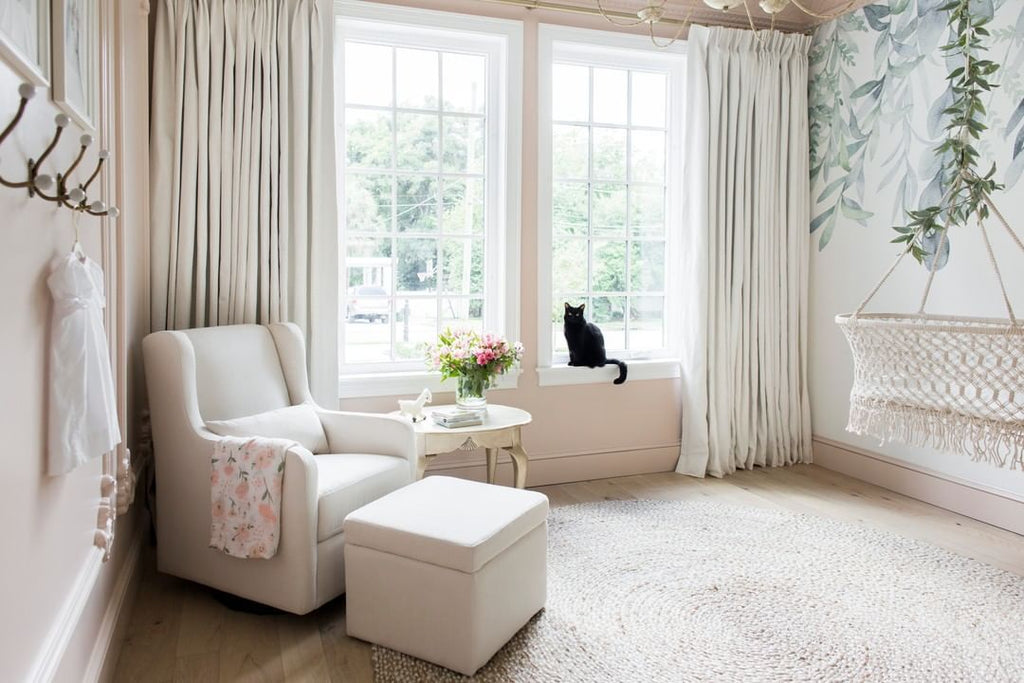 How To Style Window Treatments On Large Windows