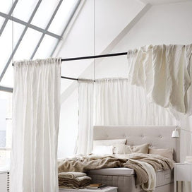 Everywhere But Windows! 5 Creative Places to Use Curtains article image