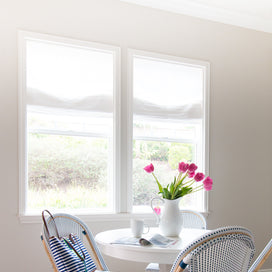 Roman shades for a gorgeous new home! article image