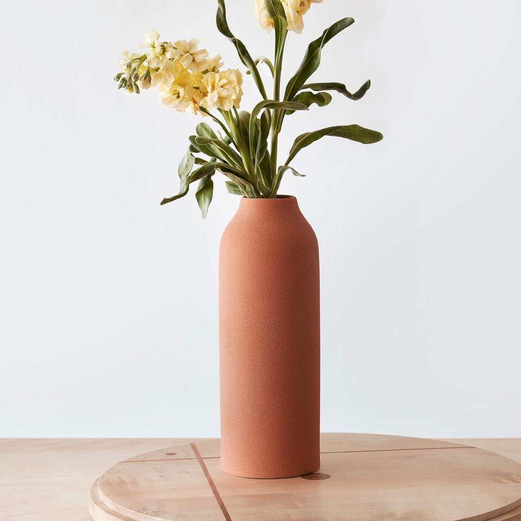 vase, terracotta, home decor