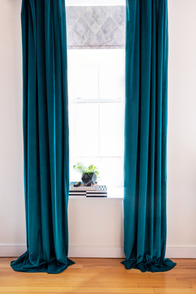 velvet drape ideas