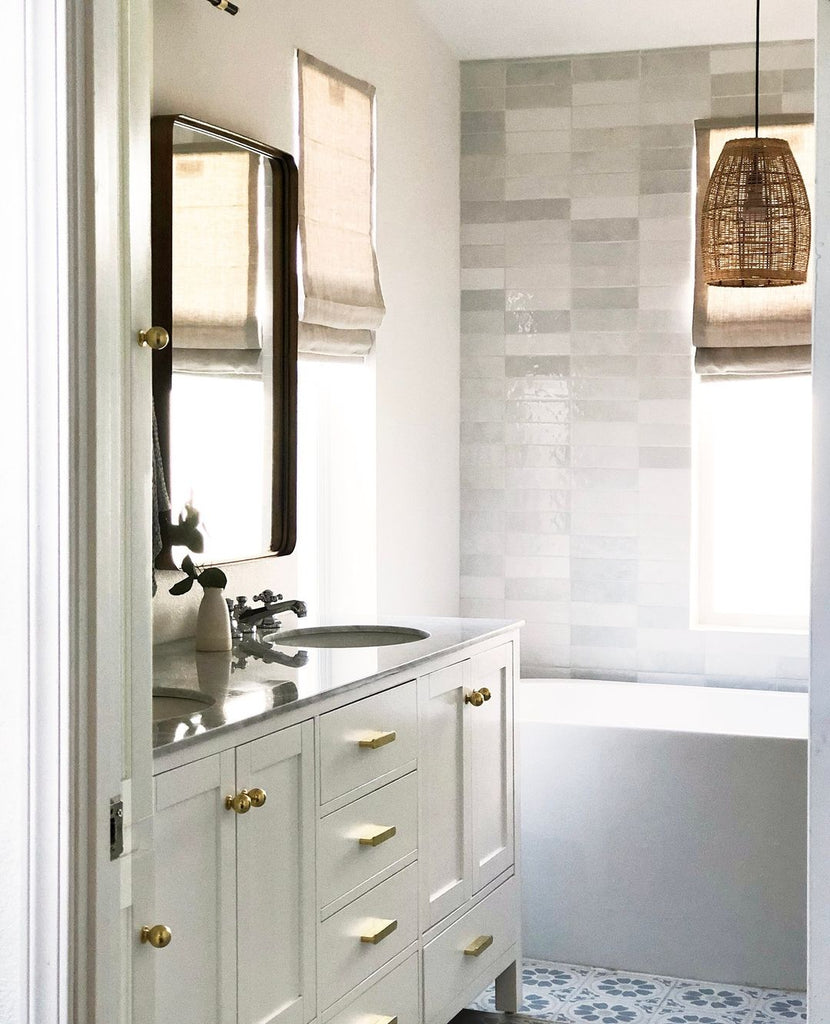 bathroom shade ideas