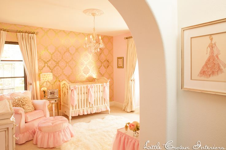 pastel nursery - barn and willow