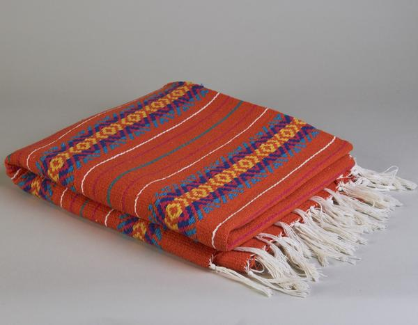 home decor, serape blanket, throw