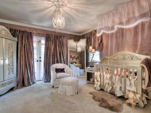 Barn and Willow luxury nursery fit for a royal baby