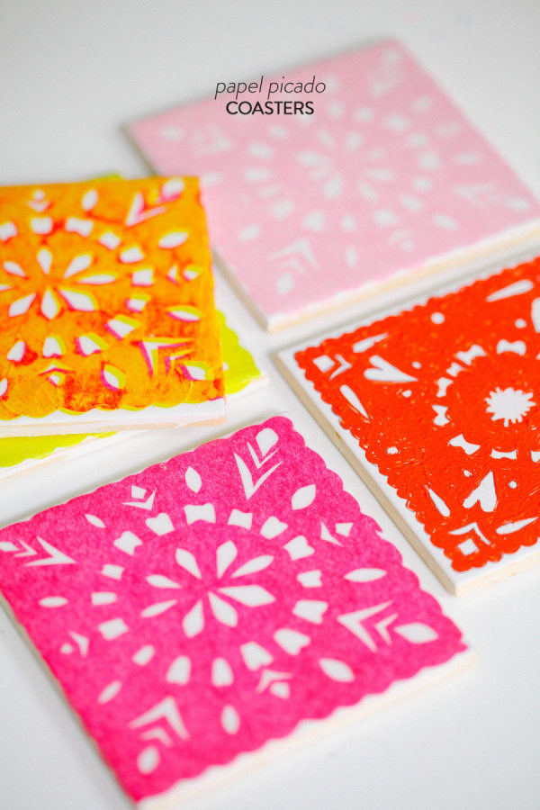 DIY, coaster, party, how to, home decor
