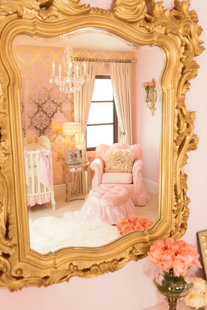 luxury pink nursery decor - barn and willow