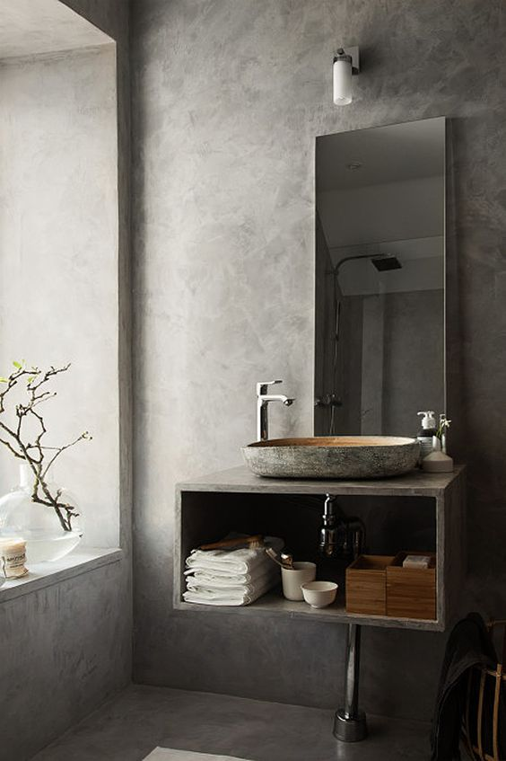 Barn & Willow: Going Gray, 7 Reasons to Consider Going for a Gray Interior, Gray Bathroom