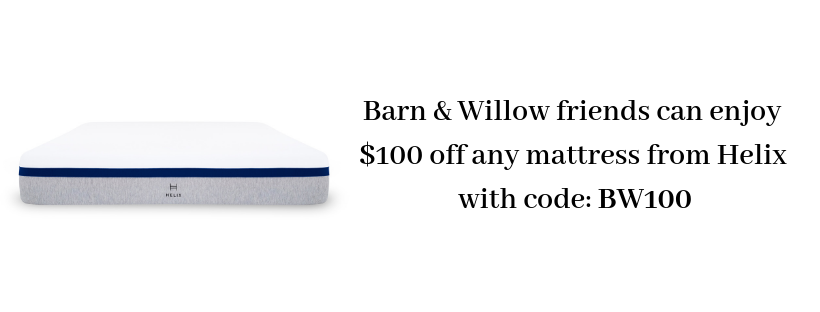 Barn & Willow partnership with Helix