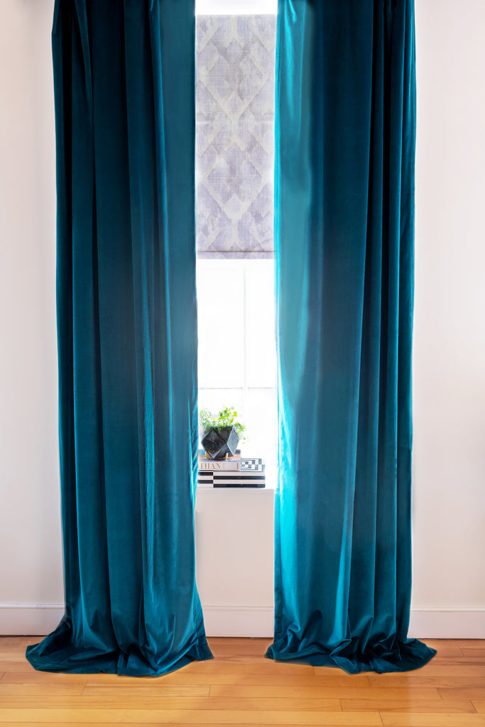 custom drapes custom roller shades