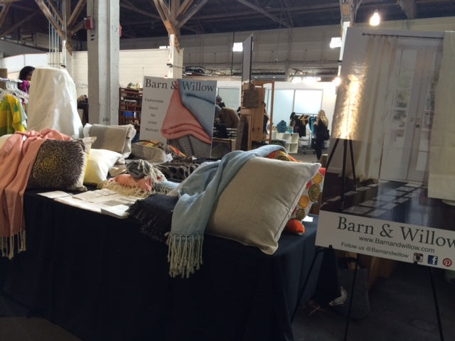 Barn and Willow at SF Etsy Popup