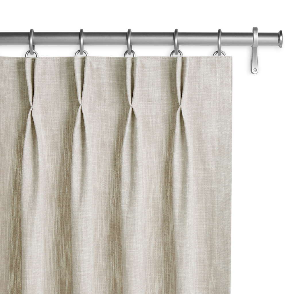 2 Pinch Pleat Monarch Drapery Panels Barn & Willow
