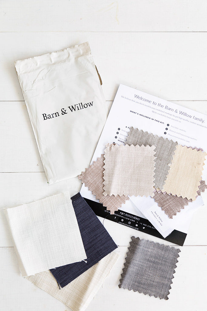 Barn & Willow free fabric swatches
