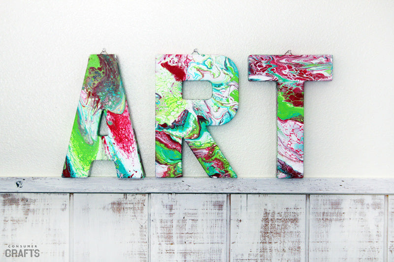 Consumer Crafts ART Canvas Letters