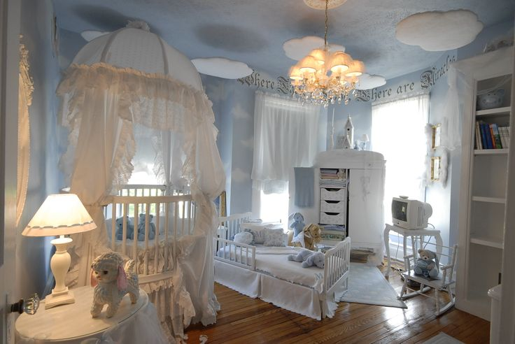 luxury nursery - barn and willow