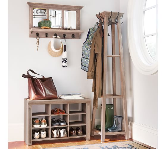 Pottery Barn Entryway Organizer