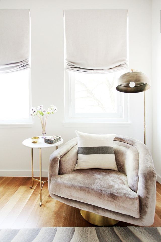 Barn & Willow: 6 Times We Fell in Love with Roman Shades...All Over Again