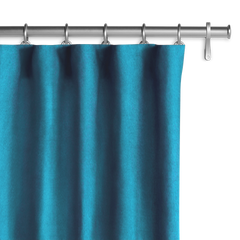 Barn & Willow | Velvet Drapery - Teal product image