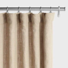 Barn & Willow | Belgian Textured Linen Drapery - Flax product image