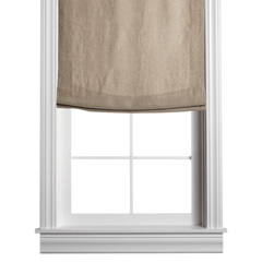 Barn & Willow | Belgian Linen Roman Shade - Flax product image