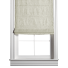 Barn & Willow | Washed Belgian Linen Roman Shade - Mint product image