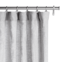 Barn & Willow | Belgian Flax Linen Drapery - Mist Gray product image