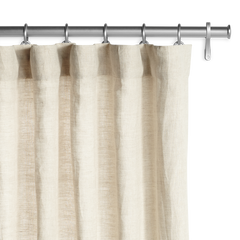 Barn & Willow | Belgian Flax Linen Drapery - Natural product image