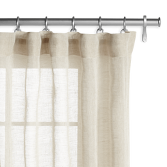 Barn & Willow | Belgian Sheer Linen - Oatmeal product image