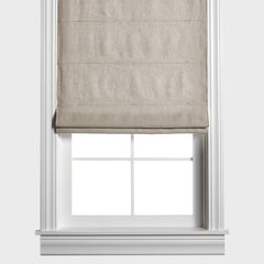 Barn & Willow | Belgian Flax Linen Roman Shade - Oatmeal product image