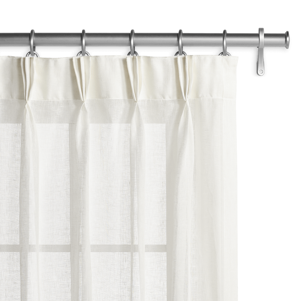 Belgian Sheer Linen - Off White