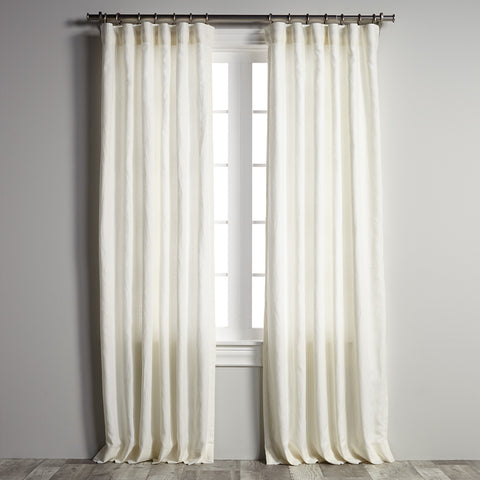 Belgian Flax Linen - Off White Panel