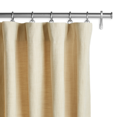 Barn & Willow | Organic Cotton Drapery - Beige product image