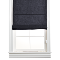 Barn & Willow | Organic Cotton Roman Shade - Storm Gray product image