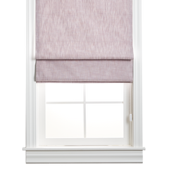 Barn & Willow | Organic Cotton Roman Shade - Cool Lavender product image