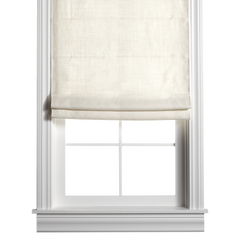 Barn & Willow | Belgian Linen Roman Shade - Oyster product image