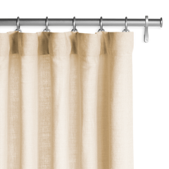 Barn & Willow | Washed Belgian Linen Drapery - Sand product image