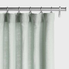 Barn & Willow | Washed Belgian Linen Drapery - Seafoam product image