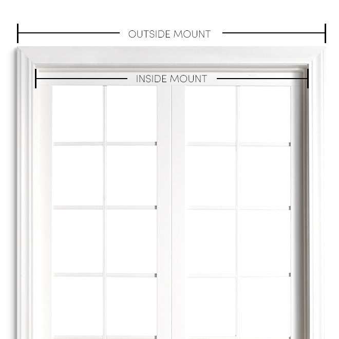 large window with shade install info