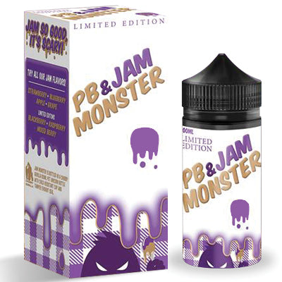 Jam Monster - PB&J Grape - 100ml - 3mg