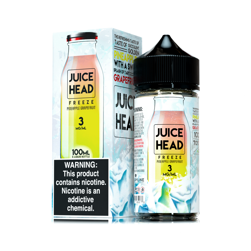 JUICEHEAD FREEZE - Pineapple Grapefruit - 3mg - 100ml