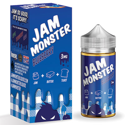 Jam Monster - Blueberry - 100ml - 3mg