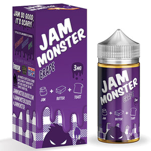 Jam Monster - Grape - 100ml - 3mg